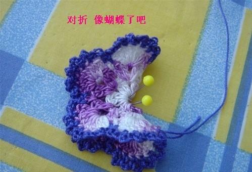 立体蝴蝶的钩法 - 梅兰竹菊 - 梅兰竹菊的博客