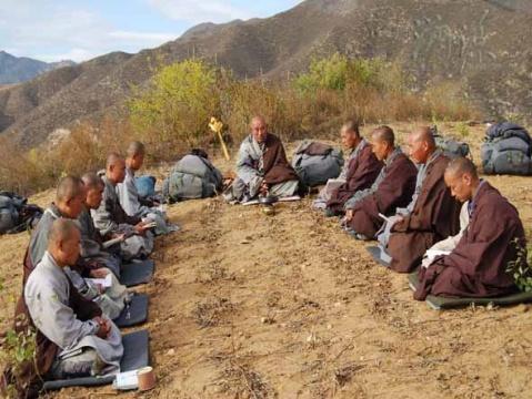 二〇〇七年大悲寺行脚情况简介 2(组图)  - 新佛教徒 - 正信之路