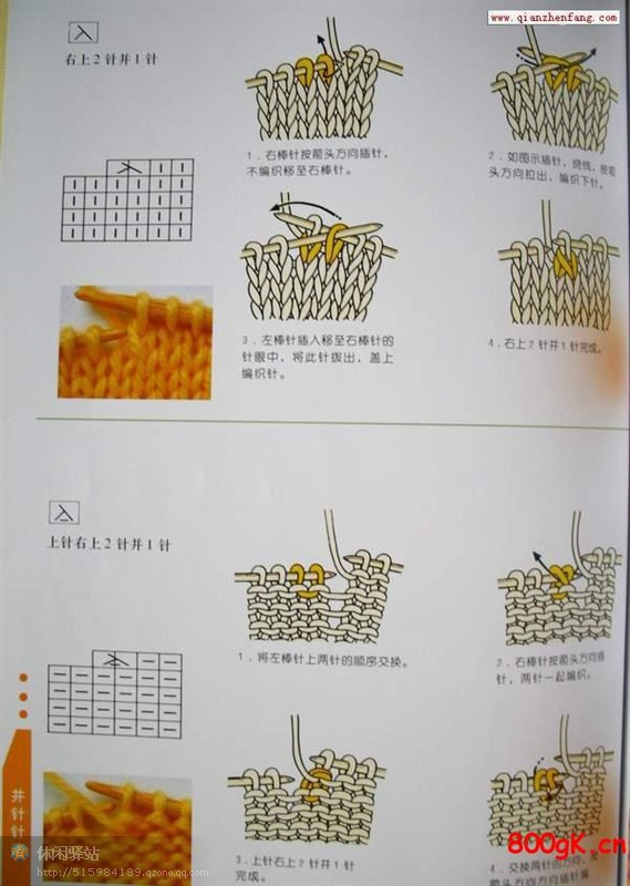 时尚短衫的编织方法 - 停留 - 停留编织博客