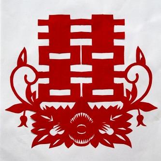 骆琳 作品 - 裁剪人生 - 刘进才 剪纸