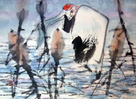 不经意处得真趣     著名画家、艺术评论家 鲁慕迅/文 - 苏文 - 中国当代美术家——路中汉
