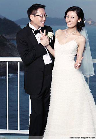 最美港姐的婚照 - sauciness - sauciness的博客