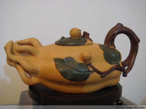 《紫砂佛手壶》(图文原创) - bono - Bono的博客