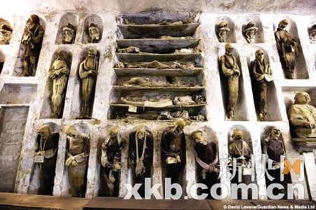 地宫藏有约8000具木乃伊
