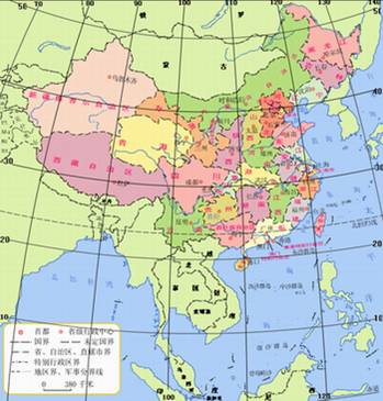 """左西右东"""") (2)展示永年县地图"""