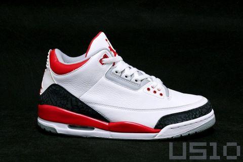 火焰红AIR JORDAN 3 - US10 - US10的鞋子们的故事