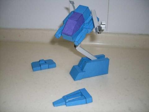 炮台 - bataf - 纸制变形金刚作坊