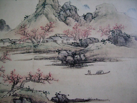 引用 罗昌老师中国山水画技法讲座第七讲 - 万如 - 愿来这的朋友天天开心!