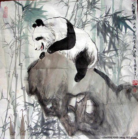 [选集]  竹 菊 国 画 精 选(四十幅) - 陈迅工 - 杂家文苑