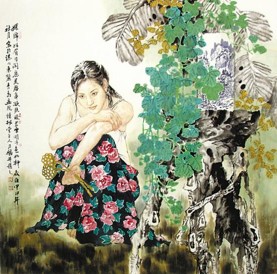 谭乃麟国画人物欣赏 - lijinguo1963 - lijinguo1963的博客