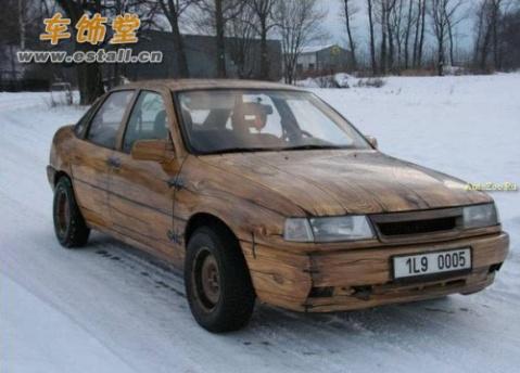 [组图] 木制汽车总汇(1)创意无限 速度不输保时捷 - 路人@行者 - 路人@行者