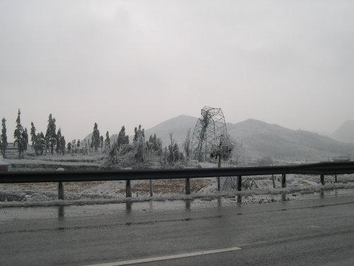 亲历雪灾现场 - 杨克 - 杨克博客