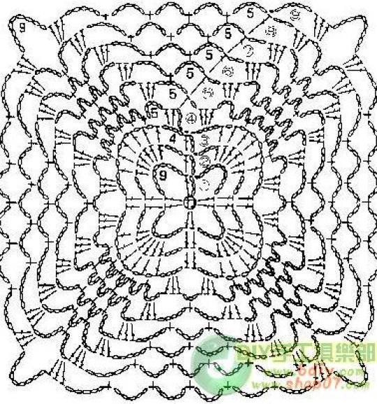 夏日钩衣单元花(二) - 一沙一世界 - 一沙一世界的博客