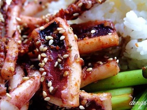 在家轻松搞定仿真版铁板烧鱿鱼(附18道解谗的海鲜 - 可可西里 - 可可西里