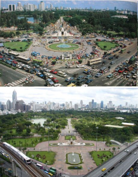 泰国曼谷——1988年和2007年