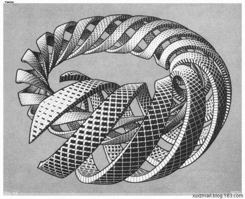 视觉魔术大师:埃舍尔 - Calculus - 高等数学