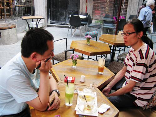 放出在上海泰康路的照片(为了每日一更!) - 夏笳 - 夏天的茄子园