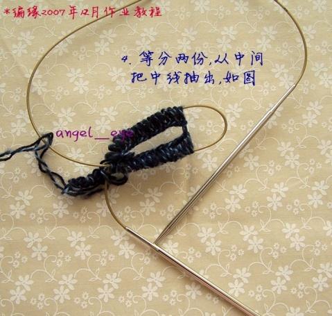 [教程]一根环针织袜子---转载 - 水心云影 - 水心云影的博客