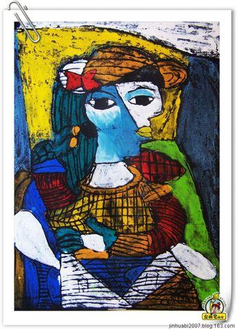 版画 临摹 毕加索作品 jinhuabi2007的日志高清图片