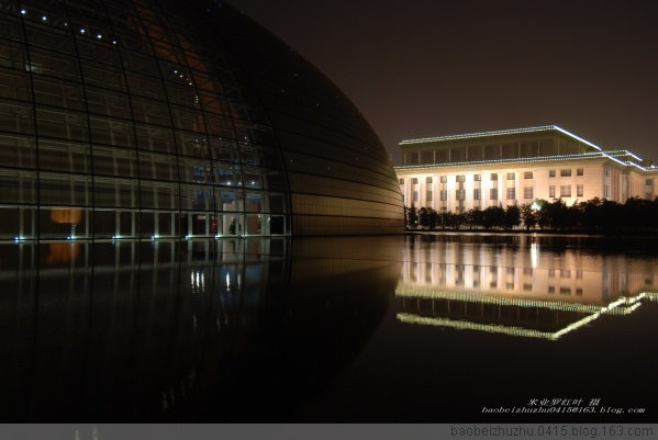 [原创]奥运前的北京----国家大剧院(二) - 米亚罗红叶 - 米亚罗红叶