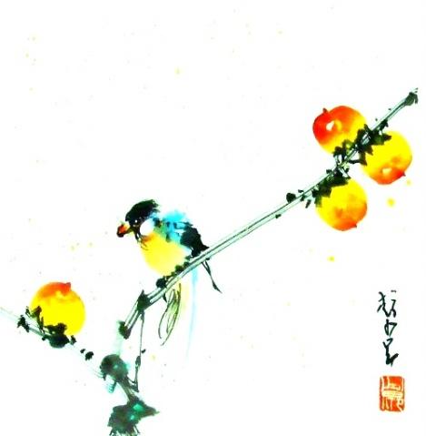 【转载】赵少昂,王雪涛,吴冠中,黄胄,刘炳森作品欣赏 - 盐湖人 - 盐湖人
