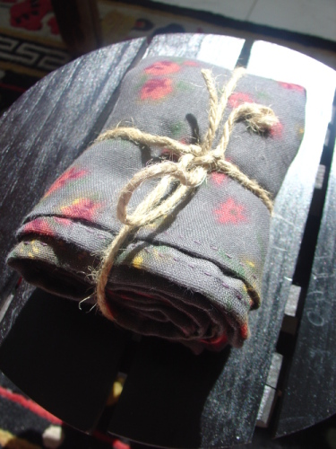 送给贝太的双层棉享福围巾 - 巫昂 - 巫昂智慧所