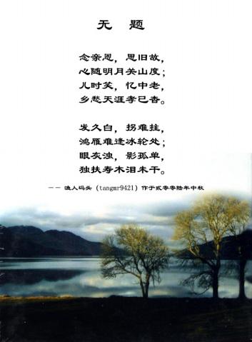 [原创.图文配]无题 - 没派传人 - Dream in ShangHai