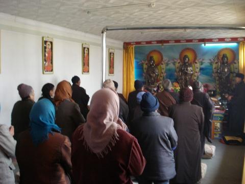 (原创)供养华山寺及本地佛教居士林(组图) - 新佛教徒 - 正信之路