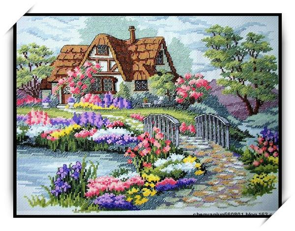 梦幻家园--烟雨十字绣作品欣赏 - 烟雨蒙蒙 - 烟雨蒙蒙的博客