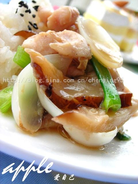 让香菇鸡饭更鲜美更健康的两个秘密武器 - 可可西里 - 可可西里