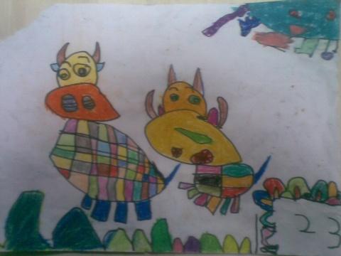 牛(大班) - rqsy2008 - 融侨元洪锦江幼儿园的博客