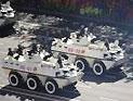 雪豹突击队武警装甲车方队接受检阅