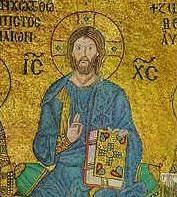 国画耶稣基督 - 风月无边 - 漪汾夕照