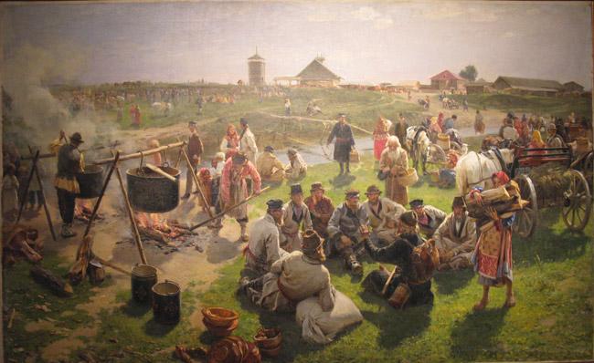 """俄罗斯油画74幅 - dingzhaoping -  伤而未残之  """"无 胆 英 雄"""""""