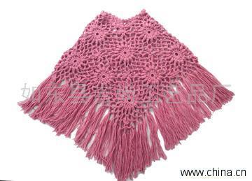 钩针编织围巾图案