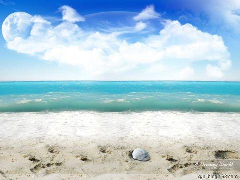 海贝(原创) - 蝉翼云朵 - 蝉翼云朵