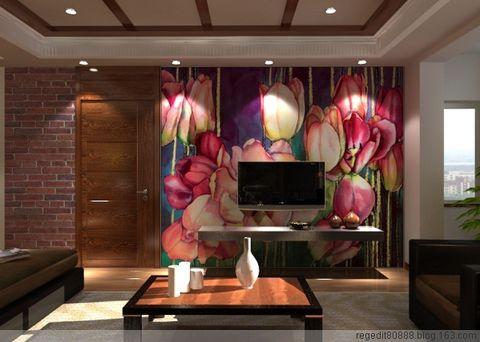 手绘墙因该画在家里的那个位置 - 啄木鸟墙体手绘 - 啄木鸟手绘工作室