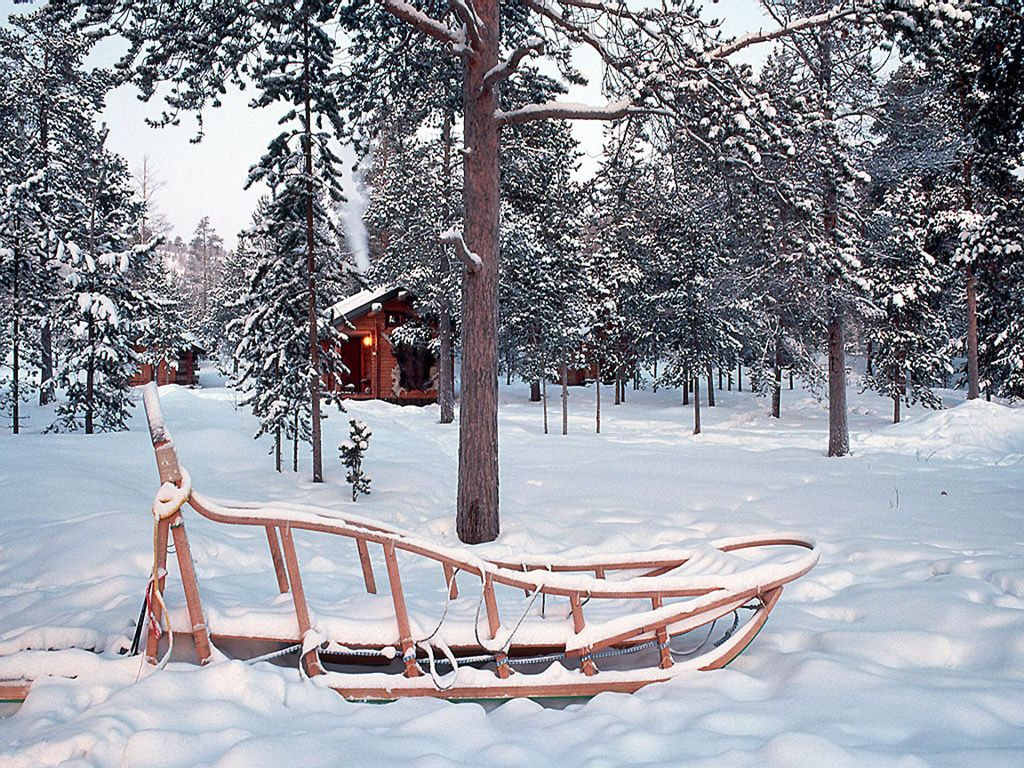 photoshop制作大雪纷飞的动态雪景图片
