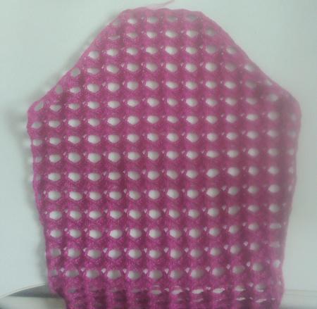 淡如水仿衣日记——紫陌丁香钩过的下摆拼花小衫(完成) - 浮萍 - 浮萍的博客