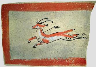 1500年前的壁画砖(多图)   霍建瀛