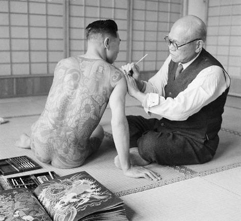 1946年:日本纹身男女(组图) - 怀旧 - 怀旧
