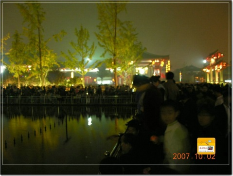 [摄影]西安之旅:非常盛典大雁塔 - 视点阿东 - 视点阿东