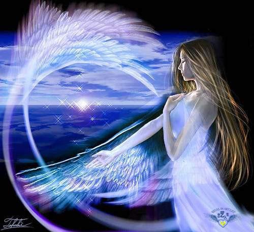 〈原创〉[自由诗]    祝福我的天使 - 文学天使 - 桃花苑主—文学天使