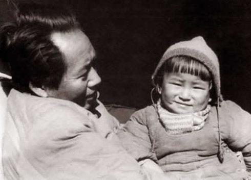 毛主席的小女儿李纳(组图)