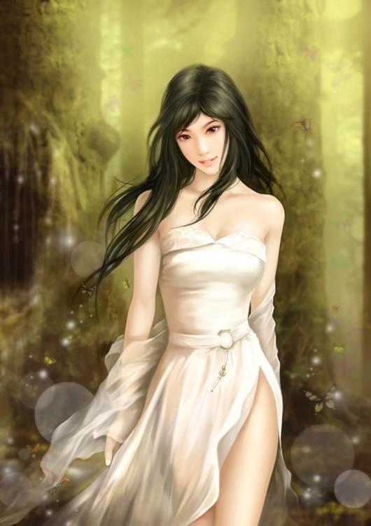 引用 【精美素材】唯美性感的手绘美人系列 - 寂寞霓裳 -   寂寞霓裳   的博客