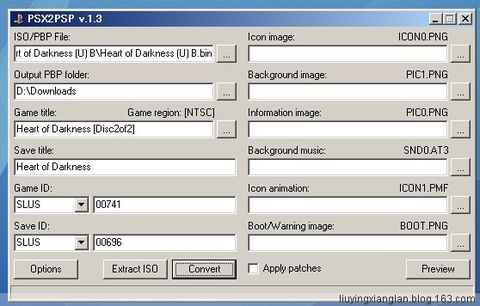 PSP玩PS游戏之转换镜像篇 - EMiX - PSP wiki博客 by 刘莹