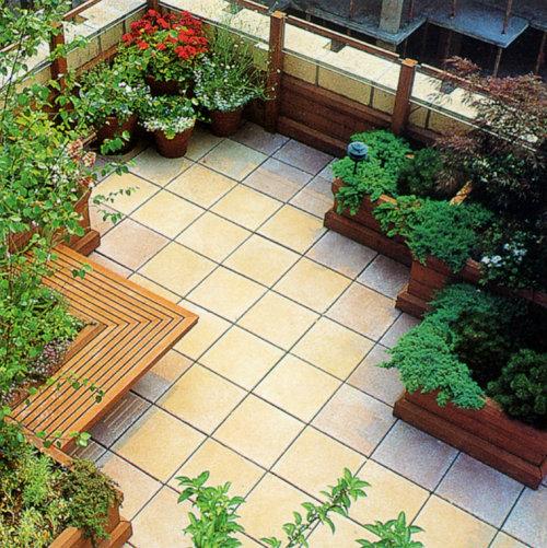 屋顶绿化 - 枫林绿洲别墅景观设计 - 枫林绿洲庭院景观设计