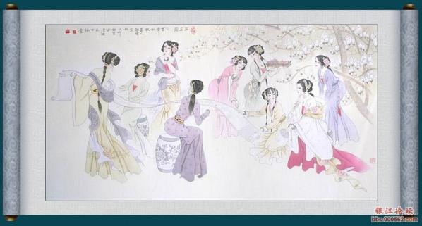 仕女工笔画欣赏 - meng.ying666 - meng.ying666的博客