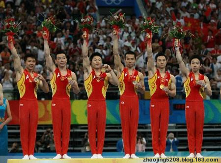 中国奥运军团夺冠精彩瞬间