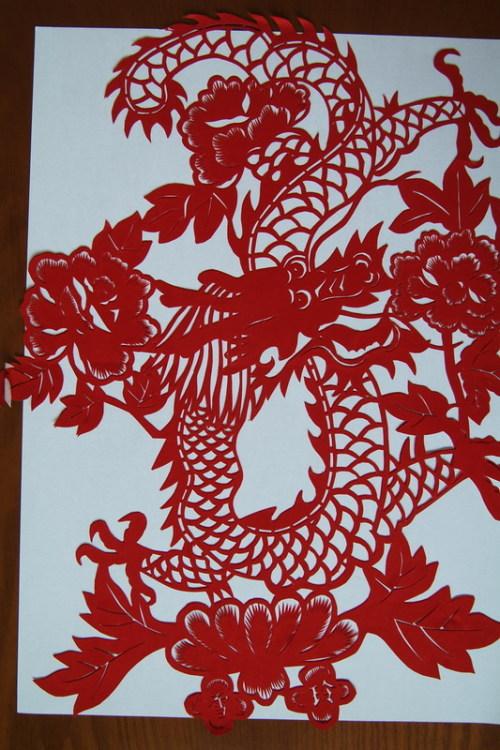 吉祥动物剪纸(一) - 竹子 - wangshujie.962 的博客